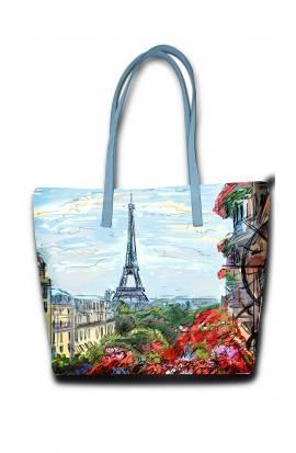 Paris-Eiffel Tower View