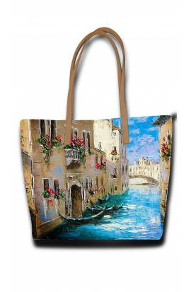 View Of Venice - Painting