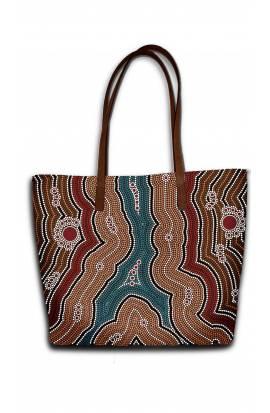 Ethnic Pattern 2 - Traditional Aborgine Art (Dot Painting)